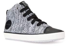Geox Alonisso Knit Mid Top Sneaker