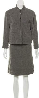 Chanel Tailored Tweed Skirt Suit