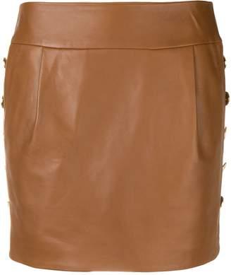 Alexandre Vauthier lambskin mini skirt