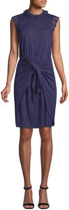 Rebecca Taylor Linen Sheath Dress