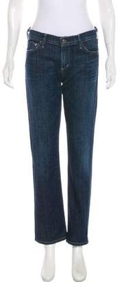 Citizens of Humanity Ava Low Rise Straight-Leg Jeans