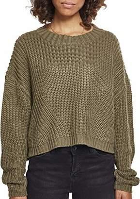 d94df0e66e900a Urban Classic Women's Ladies Wide Oversize Sweater Sweatshirt