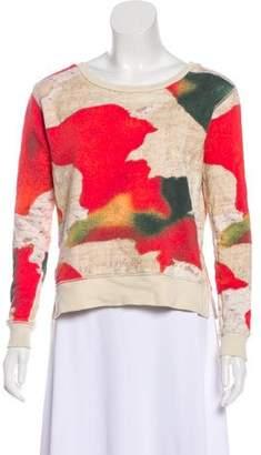 Acne Studios Printed Long-Sleeve Sweater