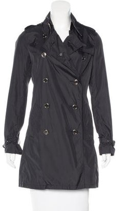 Burberry London Double-Breasted Trench Coat $330 thestylecure.com