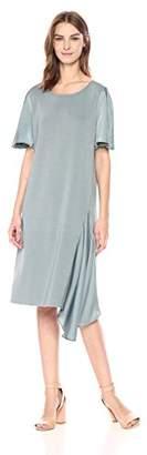 Nic+Zoe Women's Mixed Flutter Dress