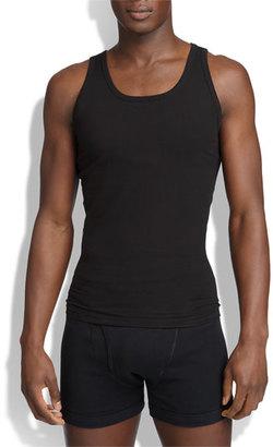 Men's Spanx Cotton Compression Tank $55 thestylecure.com