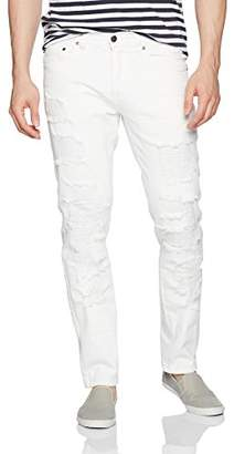 Akademiks Men's Newhawk Rip and Tear Jeans