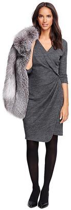 Wool Blend Dress $248 thestylecure.com