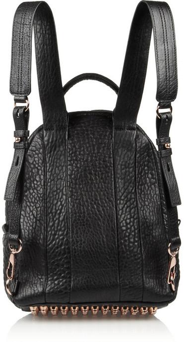 Alexander Wang Dumbo textured-leather backpack