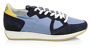 Philippe Model Men's Monaco Vintage Low-Top Sneakers