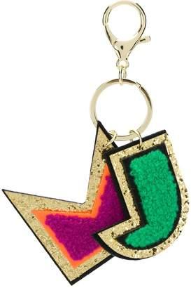 Little Marc Jacobs appliqué detail key ring