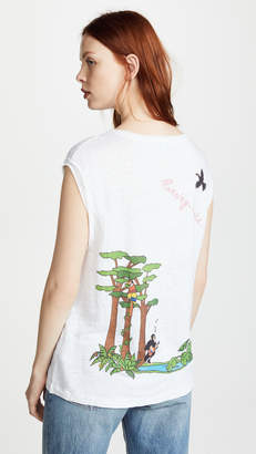 Mira Mikati Rainforest Monkey Tank Top