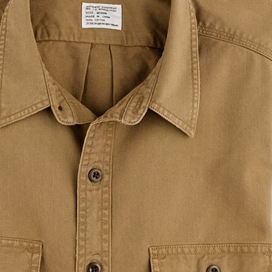 J.Crew Twill camp shirt