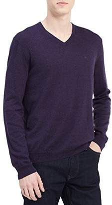 Calvin Klein Men Merino Sweater V-Neck