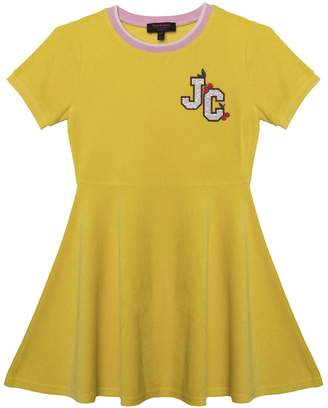 Juicy Couture Cherry Grove Microterry Short Sleeve Dress For Girls