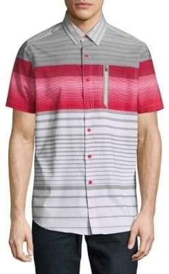 Point Zero Four-Way-Stretch Sport Shirt
