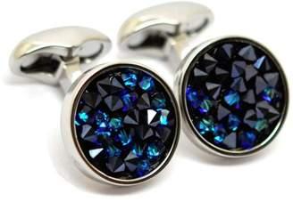 Babette Wasserman Blue Crystal Cuffl Links