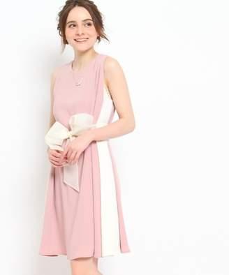 Couture Brooch (クチュール ブローチ) - 【40%OFF】クチュールブローチDorry Doll サイドバイカラーワンピースレディースブルー系(594)38【Couture Brooch】【セール開催中】