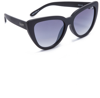 Quay Stray Cat Sunglasses $55 thestylecure.com