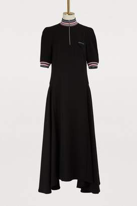 Prada Short sleeved long dress