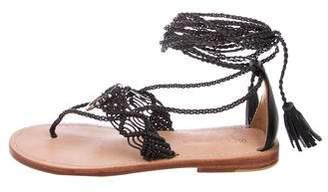 Ulla Johnson Javi Leather Sandals w/ Tags