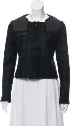 Rag & Bone Zip-Up Crop Jacket