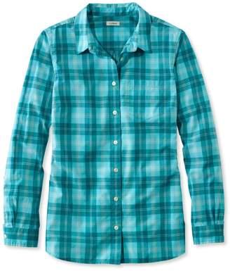 L.L. Bean L.L.Bean Classic Poplin Shirt, Long-Sleeve