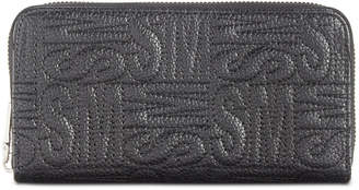 Steve Madden Chance Logo Zip Around Wallet
