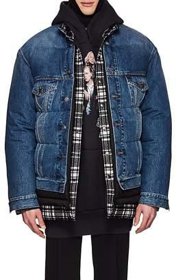 Balenciaga Men's Layered Oversized Puffer Jacket