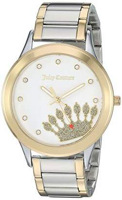 Juicy Couture Black Label Women's Swarovski Crystal Accented Two-Tone Bracelet Watch