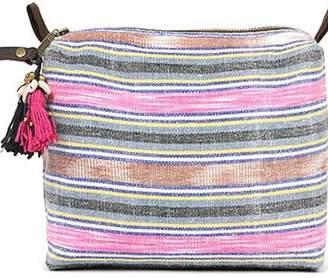 JADEtribe Striped Handmade Bag