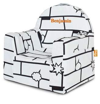Isa Belle Isabelle & Max Altheimer Kids Microfiber Chair Isabelle & Max