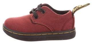 Dr. Martens Canvas Round Toe Oxfords