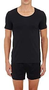 Hanro Men's Crewneck T-Shirt - Black