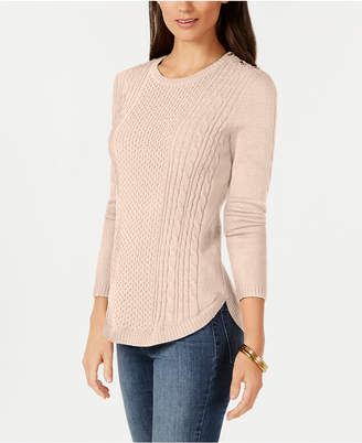Charter Club Shaped Cable Sweater