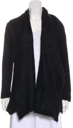Issey Miyake Cashmere Open-Front Cardigan