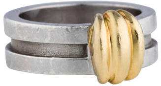 Tiffany & Co. Two Tone Ring $145 thestylecure.com