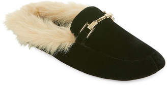 MIXIT Mixit Velour Mule Slip-On Slippers