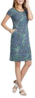 Nic+Zoe Leaf Direction Shift Dress