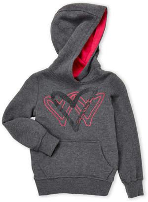 Calvin Klein Jeans Girls 4-6x) Triple Heart Hoodie