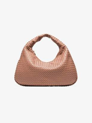 Bottega Veneta pink Veneta hobo leather shoulder bag