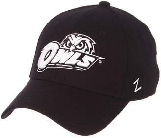 Zephyr Temple Owls Black/White Stretch Cap