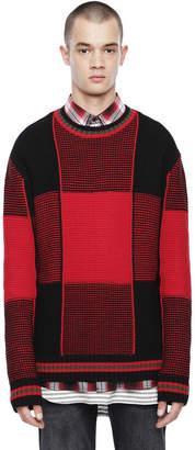 Diesel Black Gold Diesel Sweaters BGKJH - Red - L