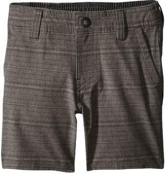 O'Neill Kids Locked Stripe Hybrid Shorts Boy's Shorts