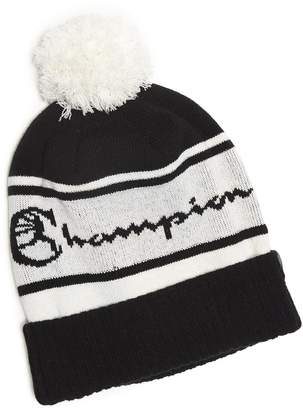 Todd Snyder + New Era Champion + New Era Pom Pom Beanie in Black