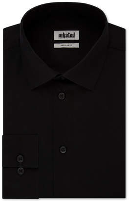 Kenneth Cole Unlisted Men Classic/Regular-Fit Solid Dress Shirt