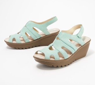 2b8c543e02b7 Skechers Slingback Wedge Women s Sandals - ShopStyle