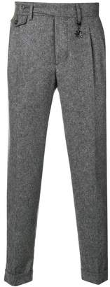 Manuel Ritz woven tailored trousers