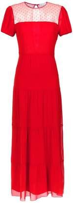 Nk long silk dress