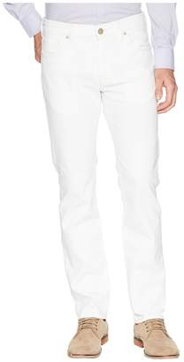 34 Heritage Courage Straight Leg in White Denim Men's Jeans